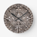 Calendario maya reloj redondo mediano