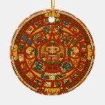 'Calendario maya Stone Adorno