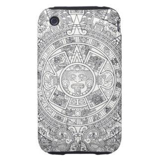 'Calendario maya Stone Carcasa Resistente Para iPhone
