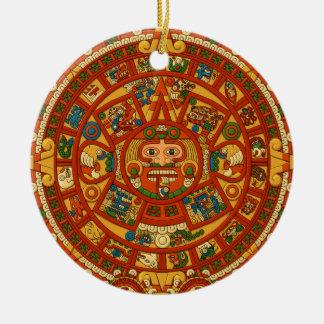 Calendario maya Stone Adorno