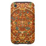 'Calendario maya Stone Tough iPhone 3 Cobertura