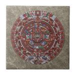 Calendario maya teja cerámica