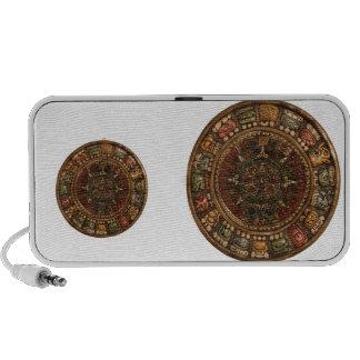 Calendario maya y azteca productos múltiples altavoz de viaje