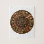 Calendario maya y azteca (productos múltiples) puzzle con fotos