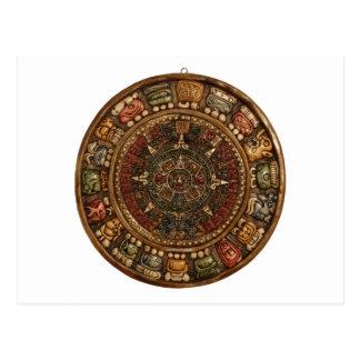 Calendario maya y azteca (productos múltiples) postal