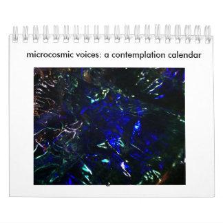 calendario mCosmic de la reflexión