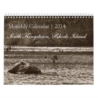 Calendario mensual de Kingstown del sur, Rhode