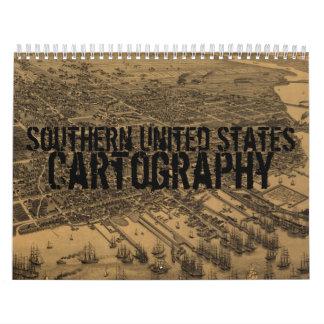 Calendario meridional de la cartografía de Estados