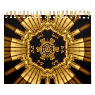 Calendario metálico 2011