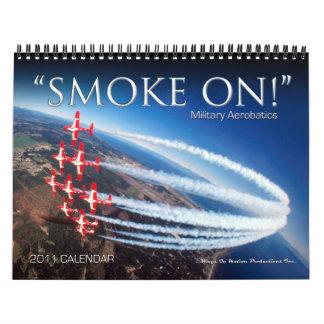Calendario militar de las acrobacias aéreas 2011