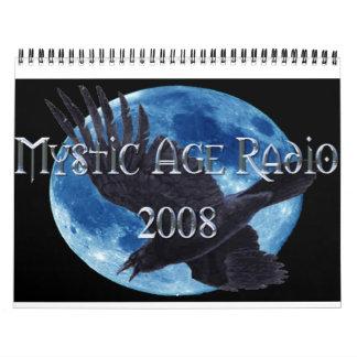 Calendario místico de la radio de la edad