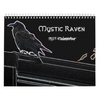 Calendario místico del cuervo 2013