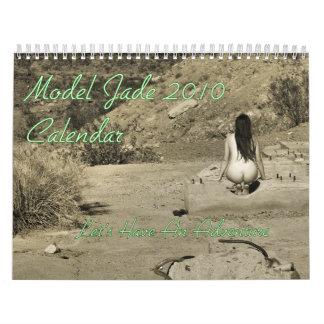 Calendario modelo del jade 2010