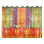 Calendario moderno 2014 del arte contemporáneo de