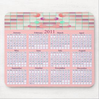 Calendario Mousepad del arte 2011