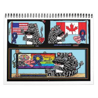 Calendario mundial de las cebras