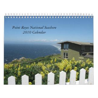 Calendario nacional de la costa 2010 de Reyes del