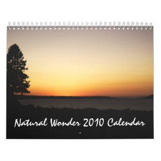 Calendario natural de la maravilla 2010