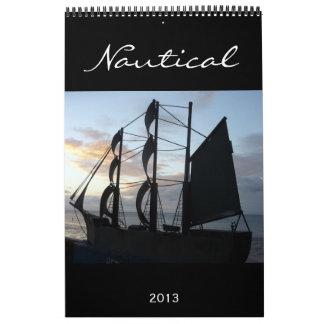calendario náutico 2013