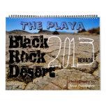 Calendario negro 2013-2014 de Playa del desierto