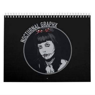 Calendario nocturno de Graphx 2016