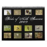Calendario norteamericano de los pájaros