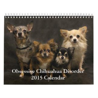 Calendario obsesivo del desorden 2015 de la