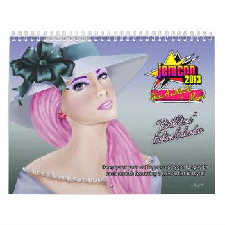 Calendario oficial de JemCon 2013