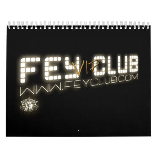 Calendario Oficial FeyClub VIP Wall Calendars