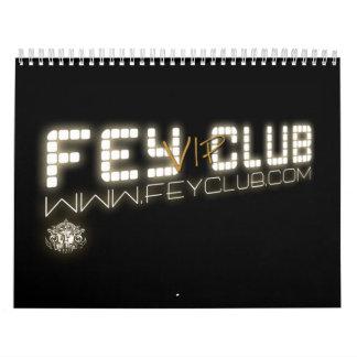 Calendario Oficial FeyClub VIP