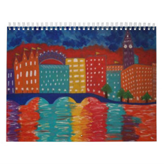 Calendario original de las pinturas de Linda