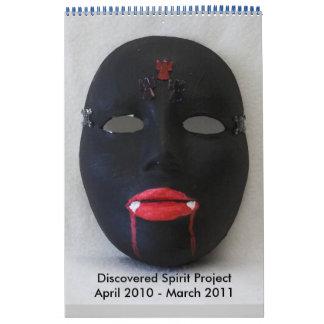 calendario oscuro abril de 2010-marzo de 2011