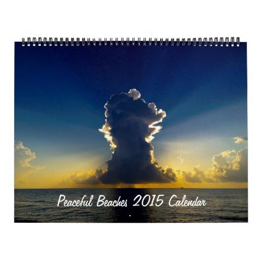 Calendario pacífico de las playas 2015