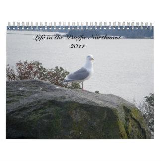 Calendario pacífico del noroeste 2011
