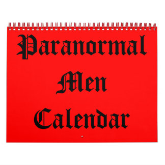 Calendario paranormal de los hombres