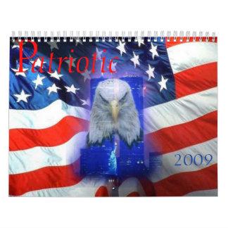 Calendario patriótico de las escenas 2009