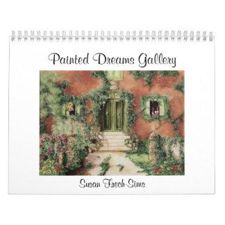 Calendario pintado de la galería de los sueños