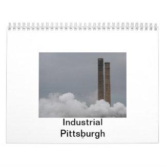 Calendario: Pittsburgh industrial