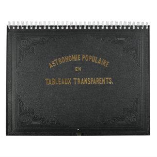 Calendario popular de la astronomía 2012