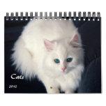 Calendario precioso de los gatos 2012