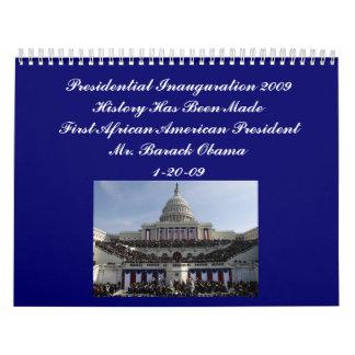 Calendario presidencial 2009