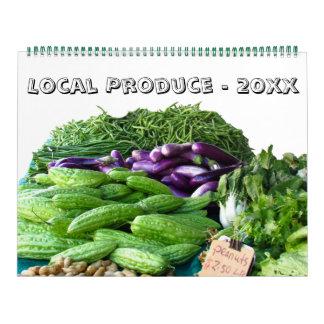 Calendario - producción local por este año