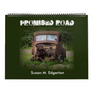 Calendario prometido del camino de Susan M.