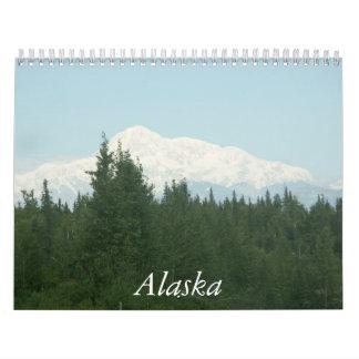 Calendario puro de Alaska