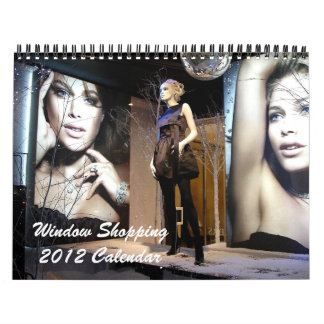Calendario que hace compras 2012 de la ventana