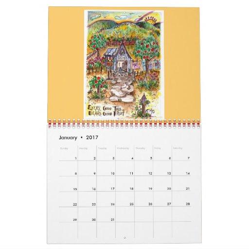 """calendario """"que mira a escondidas en """""""