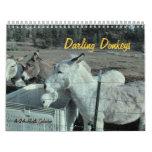 calendario querido de 24 meses del burro