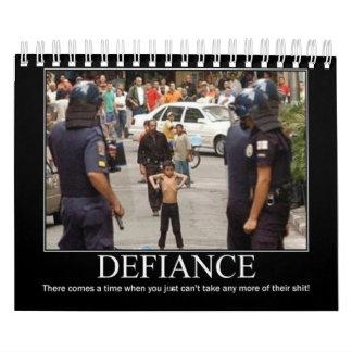 Calendario rebelde del desafío
