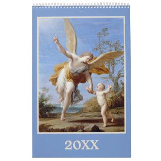 Calendario religioso del personalizado del arte