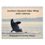 Calendario residente meridional de la orca 2016